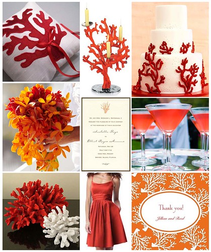 Sea Coral Wedding