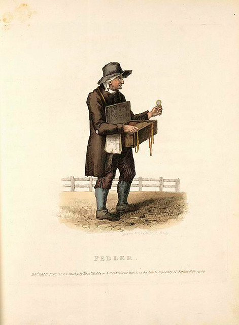 002-Buhonero-Costume of the lower orders of London 1820- Lord  Thomas Busby