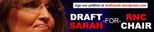 Draft Sarah Palin For RNC Chair