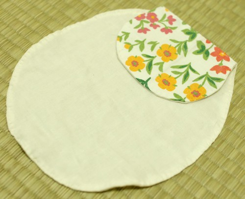 Pad for sweat on the back (baby)