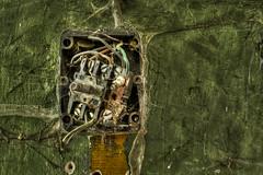 On the wall (Miroslav Petrasko (hdrshooter.com)) Tags: detail military base bratislava hdr fuse topaz devinska elektricity photomatix opustena vojenska kobyla zakladna