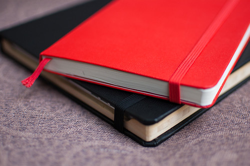 Red Moleskine on DODOcase