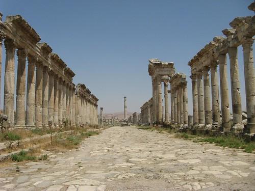 Ruinas romanas de Afamia, Síria