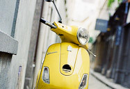 yellow scoot.
