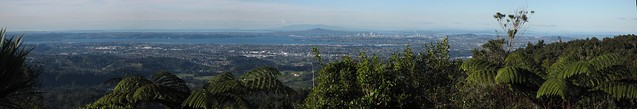 Auckland from the Waitakere Ranges Panoramic