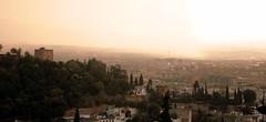 Blick auf Granada, Andalusien