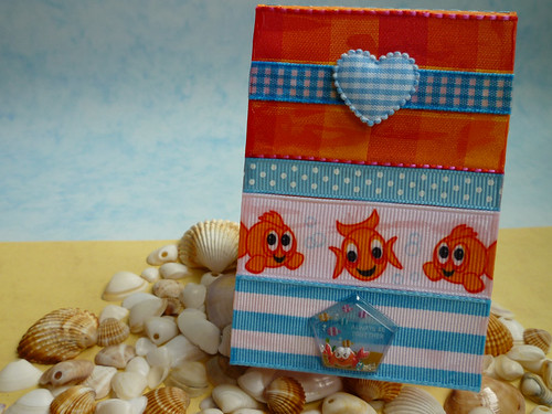 goldfish ribbon notebook