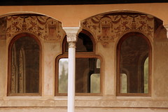 Der Palacio Real in der Alhambra, Granada, Andalusien