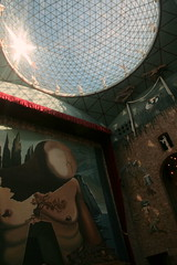 Im Teatre-Museu Dalí in Figueres, Katalonien
