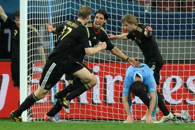 Mundial Sudáfrica Alemania Uruguay Diego Godin