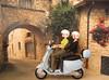 Audrey & Torrance take a ride on the Vespa (MurderWithMirrors) Tags: doll vespa sekiguchi momoko mwm petworks 04nf twilightfiancee