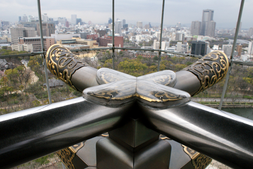 大阪城、天守閣