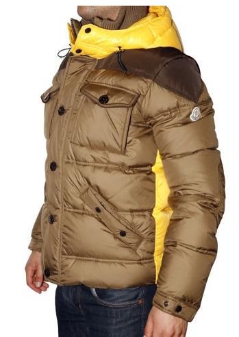 moncler jas beige heren