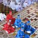 Cao Dai priests - Holy See at Tay Ninh