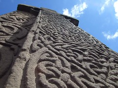 Celtic knotwork on a cross slab at Aberlemno. (stuant63) Tags: history stone scotland ancient cross angus carving christian relief historical celtic spiritual pict pictish knotwork stonewrok aberlemno crossslab classii stuant63 stuartanthony