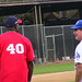 Michael Clark Duncan & Steve Garvey at Steve Garvey's Softball Classic 2010