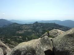 Vue depuis le sommet de Punta di u Diamante vers le Sud