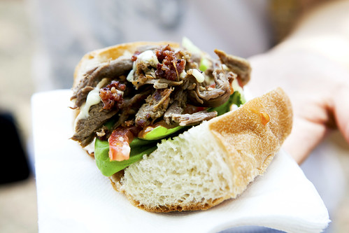 MLTs (mutton, lettuce, tomato) from Resto