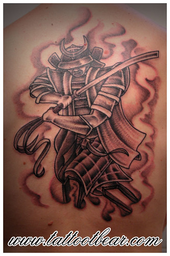 Tattoo Samurai by tattoo t-bear