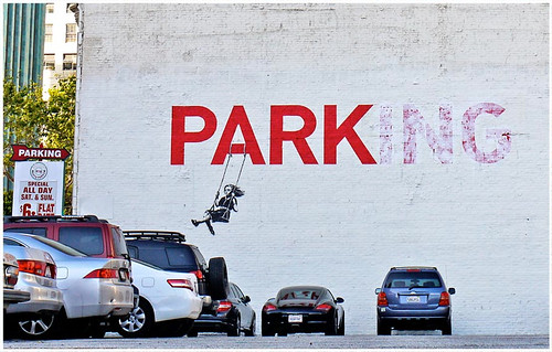 Banksy.co.uk Parking Photo