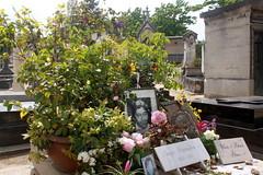 Das Grab von Serge Gainsbourg