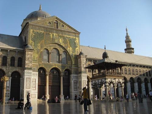 Grande Mesquita Omíada de Damasco, Síria