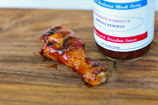 Blackjack Barbecue Butterscotch Bourbon Sauce