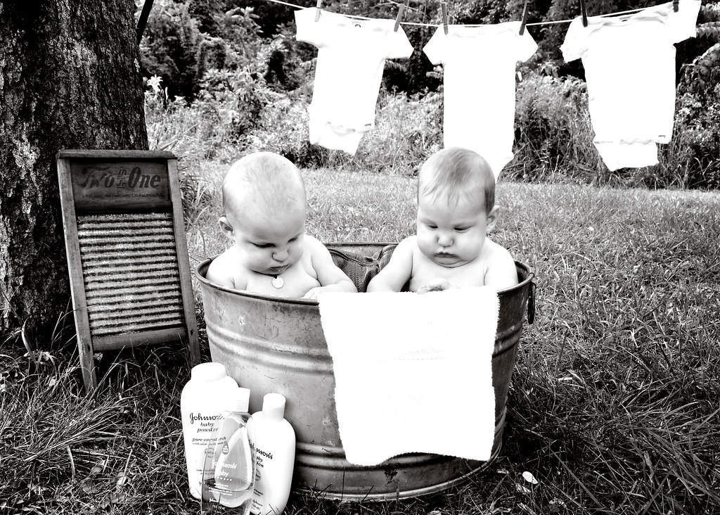 twins in the wash tub angelica markland tags old boy baby boys twins