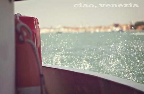 ciao, venezia