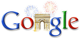 Google Bastille Day 2006
