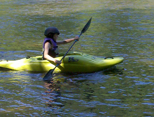 Tristyn Kayaking