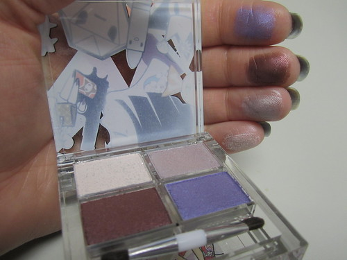 Tokidoki Diamante Cromatico Palette Swatches and Inside