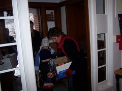 Governor and family deliver turkeys to shelter 2007 (Learfield News) Tags: november turkey shelter 2007 culver radioiowa