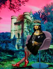 La 3ème joconde : la reine des bijoux (Nots') Tags: mona chateau reine
