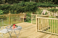 Traditional Colonial System Decking (Richard Burbidge) Tags: decks decking deckrailing deckboards wooddecking gardendecking richardburbidge deckingbalustrade deckingrails deckingbalustrades