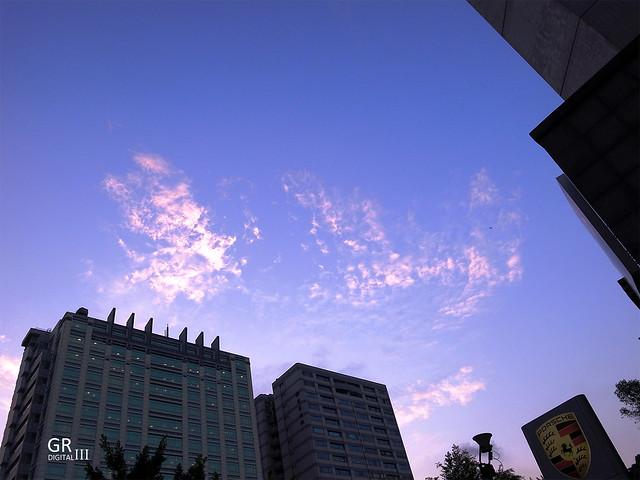 很美的天空