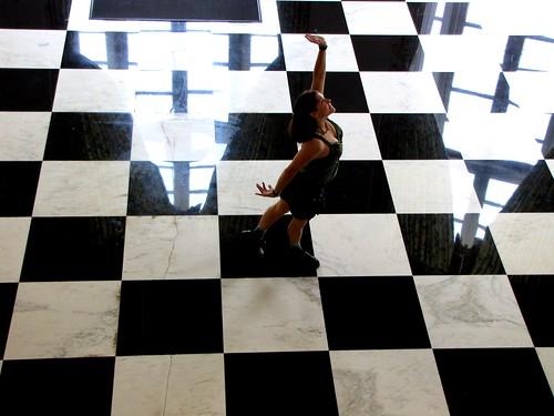 Dancing on the David Lynch floor