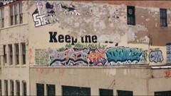 SIVEL & DANE (Billy Danze.) Tags: old school chicago graffiti xmen dane stolen middle tme cya sivel j4f uac