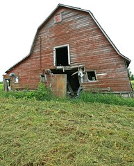 Barn on Red River Drive (Cindy's Here) Tags: canada abandoned barn canon decay farm manitoba prairies
