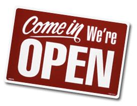 open-comein