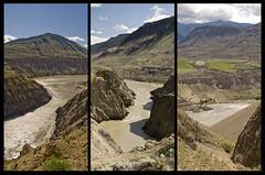 Canyon Triptych (showbizinbc) Tags: bc desert canyon fraserriver cariboo chilcotin