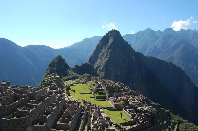 〔世界遺産〕マチュピチュ Machu Picchu(ペルー) ワイナピチュからの絶景