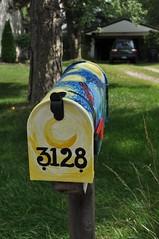 Starry Night Mailbox 2 (danbruell) Tags: mailbox michigan vangogh starrynight danbruell
