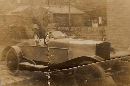 Grandpa's car.