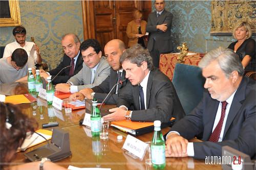 Conferenza stampa su Roma Capitale