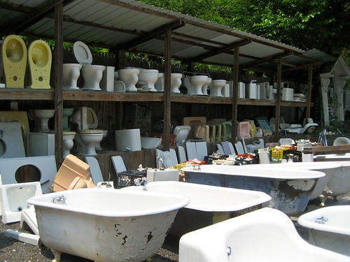 Vintage Bathroom Fixtures & Architectural Salvage and More Cool Old Stuff u2013 Recycling The Past ...