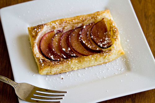 Puff Pastry Plum Tartlets - 4