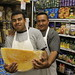 Huge Cheese and Deli Guys at Teitel Brothers Deli - The Bronx