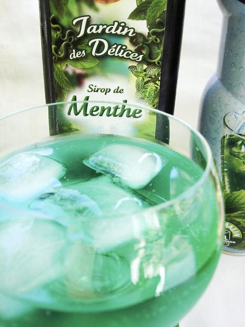 """Test-Degustation Sirop de Menthe aus Frankreich """"Jardin des Délices"""""""