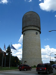 Ypsi water tower